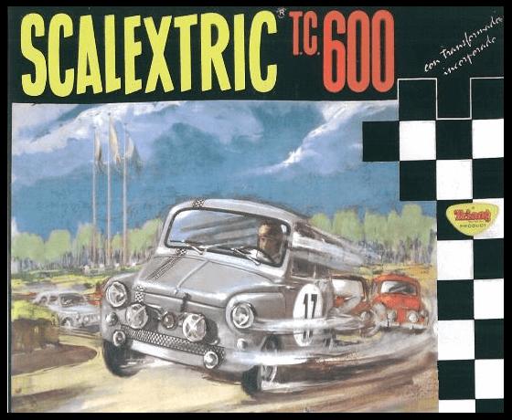 Mejores circuitos de Scalextric El Scalextric TC 600 Seat España