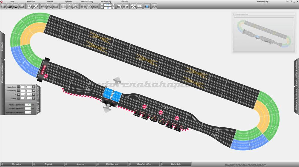 software para diseñar circuitos de scalextric para principiantes