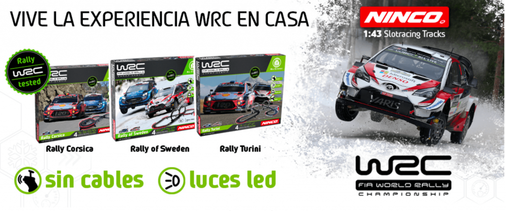 WRC Ninco Slot y Scalextric